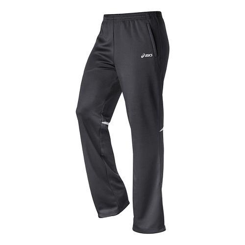 Womens ASICS Cali Full Length Pants - Steel Grey/White L
