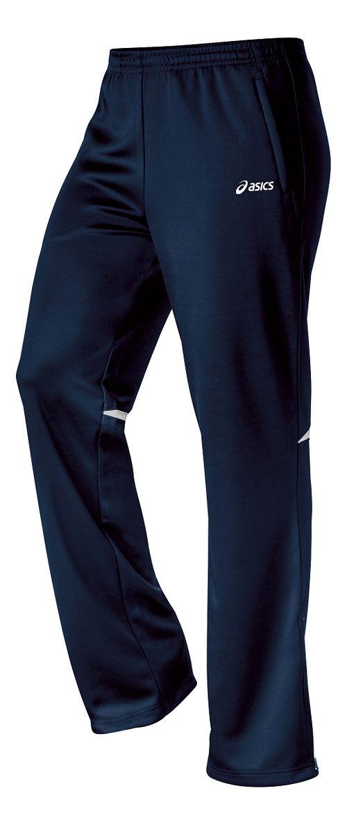 Womens ASICS Cali Full Length Pants - Navy/White S