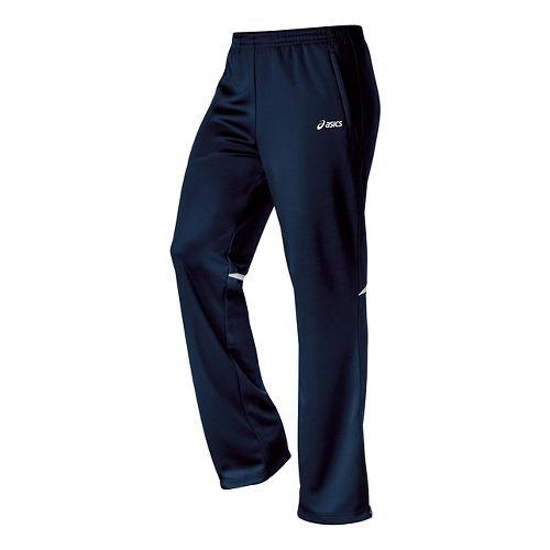 Womens ASICS Cali Full Length Pants - Navy/White XXL