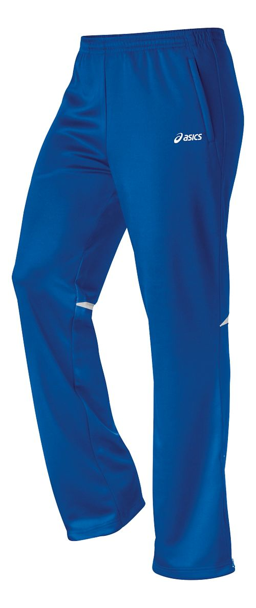 Womens ASICS Cali Full Length Pants - Royal/White XL