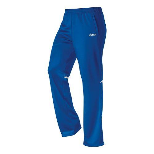 Womens ASICS Cali Full Length Pants - Royal/White XL