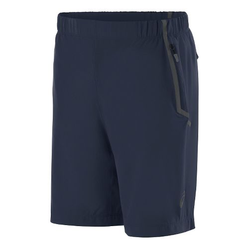 Mens ASICS Woven Unlined Shorts - Dark Cobalt L