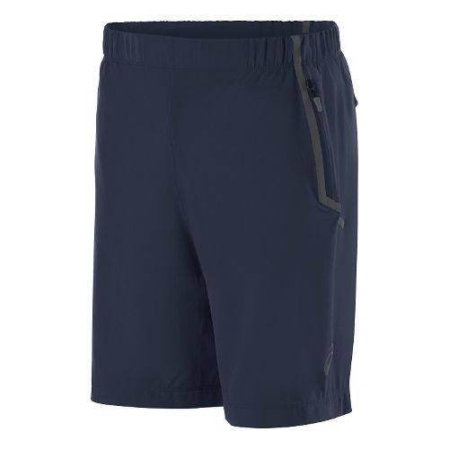 Mens ASICS Woven Unlined Shorts - Dark Cobalt S