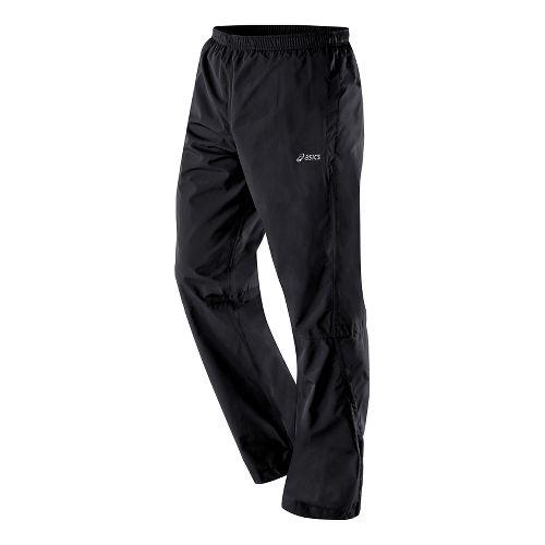 Mens ASICS Storm Shelter Full Length Pants - Performance Black M