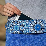 Womens Bandi Print Classic Pocket Belt Fitness Equipment