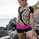 Womens Bandi Solid Classic Pocket Belt Fitness Equipment