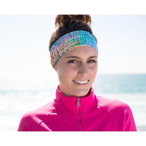 Womens Bandi Pocket Headband Headwear - Colorful Hatch