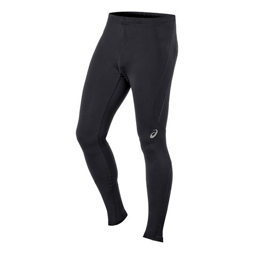 Mens ASICS Race Full Length Tights - Performance Black M