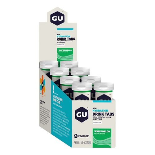 GU Hydration Drink Tabs 8 pack Gels - null