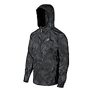 Mens ASICS Fuji trail Packable Warm Up Hooded Jackets