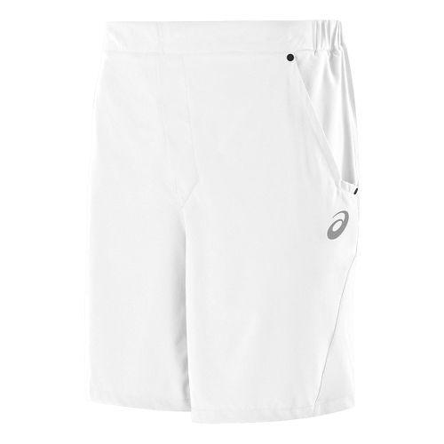 Mens ASICS Athlete Unlined Shorts - Real White XXL