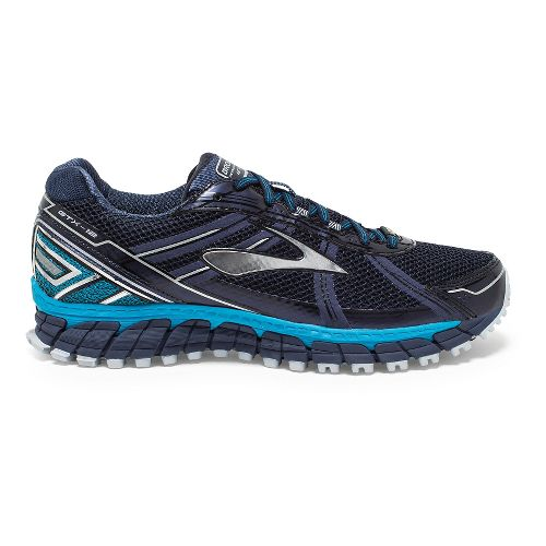Mens Brooks Adrenaline ASR 12 GTX Trail Running Shoe - Peacoat/Blue 9.5