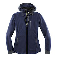 Womens Brooks Seattle Shell Warm Up Hooded Jackets