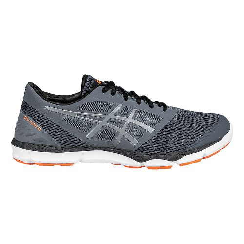 Mens ASICS 33-DFA 2 Running Shoe - Grey/Silver 11.5