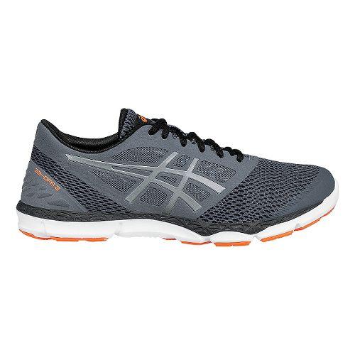 Mens ASICS 33-DFA 2 Running Shoe - Grey/Silver 7