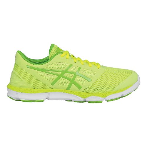 Womens ASICS 33-DFA 2 Running Shoe - Sharp Green 9