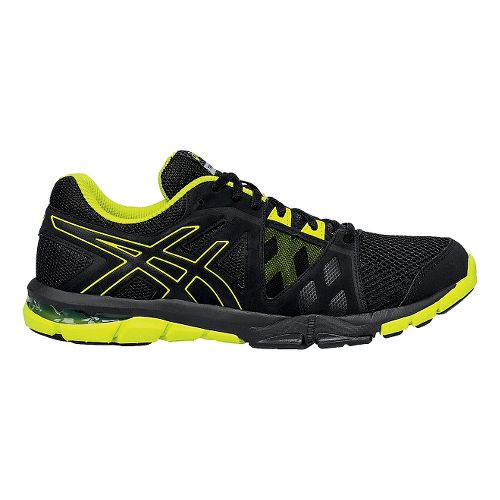 Mens ASICS GEL-Craze TR 3 Cross Training Shoe - Black/Lime 10.5