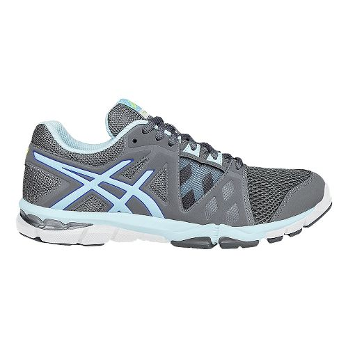 Womens ASICS GEL-Craze TR 3 Cross Training Shoe - Titanium/Blue 6.5