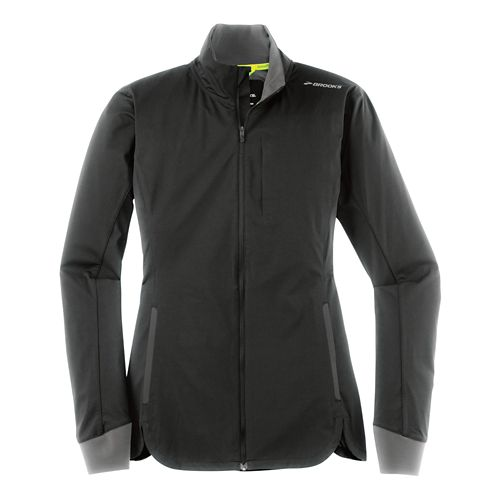 Womens Brooks Drift Shell Lightweight Jackets - Black S