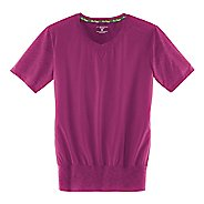 Womens Brooks Fly-by Short Sleeve Technical Tops