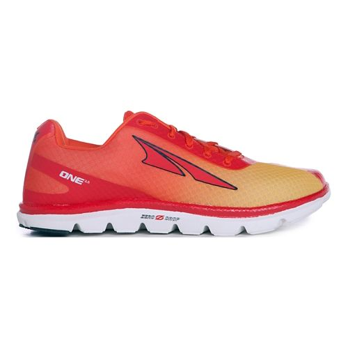 Mens Altra One 2.5 Running Shoe - Orange Fade 10