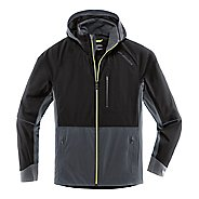 Mens Brooks Seattle Shell Warm Up Hooded Jackets