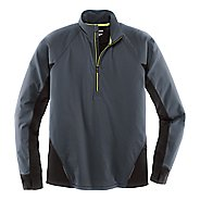 Mens Brooks Drift 1/2 Zip Long Sleeve Technical Tops