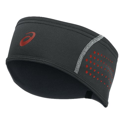ASICS Lite-Show Windblock Headwarmer Headwear - Dark Grey