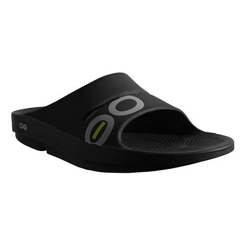 OOFOS Ooahh Sport Sandals Shoe - Navy/Steel 7