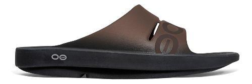 OOFOS Ooahh Sport Sandals Shoe - Brown 5
