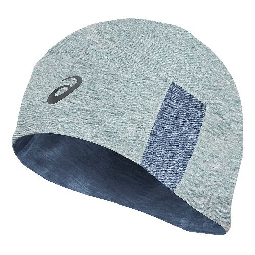 ASICS Thermal 2-N-1Beanie Headwear - Grey Heather/Blue
