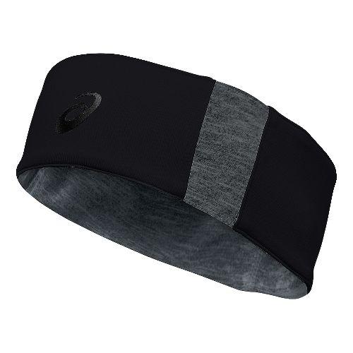 ASICS Thermal 2-N-1 Headwarmer Headwear - Black/Grey Heather