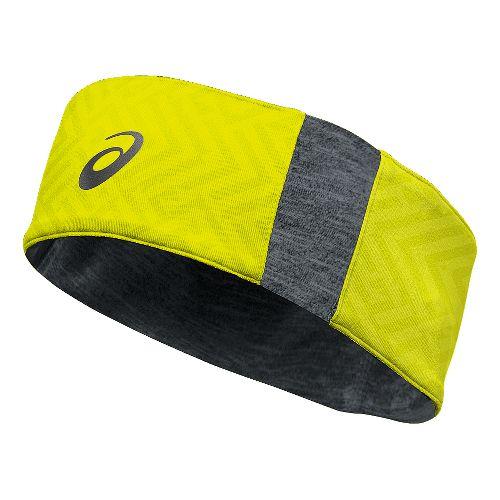 ASICS Thermal 2-N-1 Headwarmer Headwear - Safety Yellow/Grey