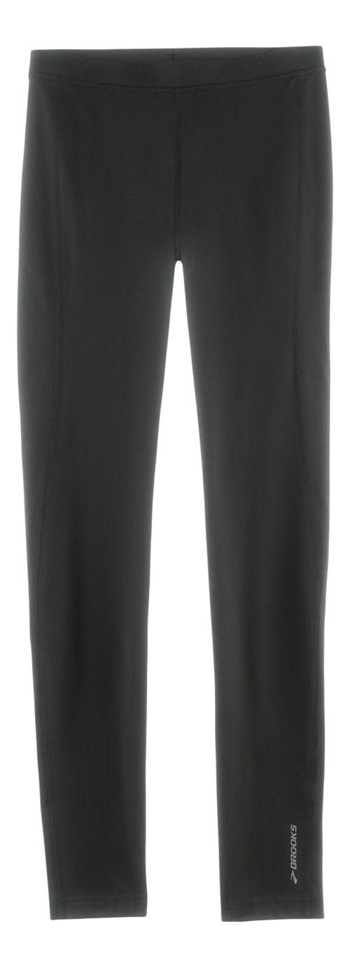 Mens Brooks Greenlight Leggings Tights - Black XL