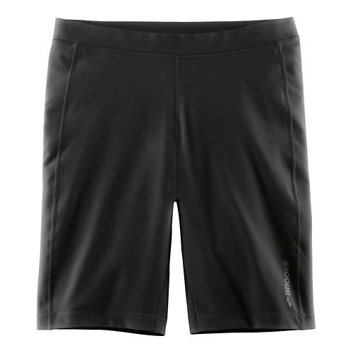 Mens Brooks Greenlight 9 Tight Unlined Shorts - Black XL