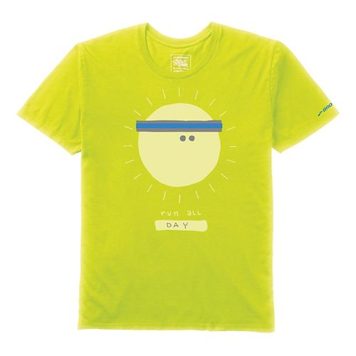 Mens Brooks Commitment T-Shirt Technical Tops - Nightlife M