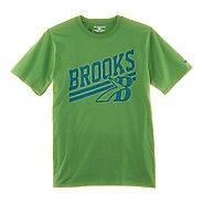 Mens Brooks Heritage T-Shirt Short Sleeve Technical Tops