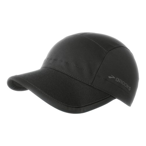 Brooks Seattle Collapsible Hat Headwear - Black
