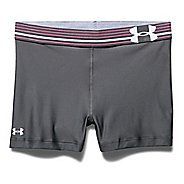 Womens Under Armour HeatGear Compression Shorty Unlined Shorts
