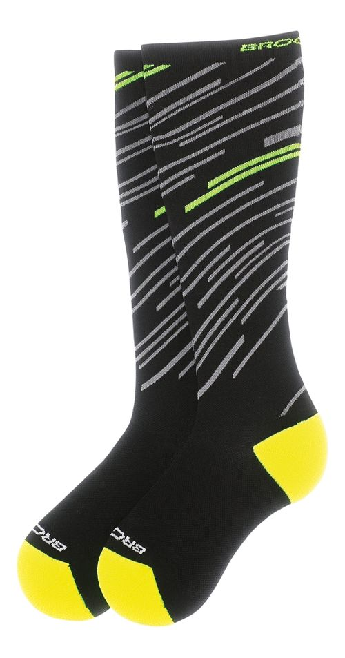 Brooks Fanatic Compression Sock Injury Recovery - Black/Nightlife S