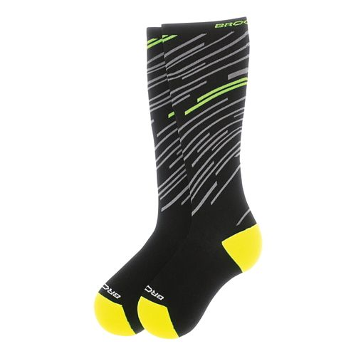 Brooks Fanatic Compression Sock Injury Recovery - Black/Nightlife M