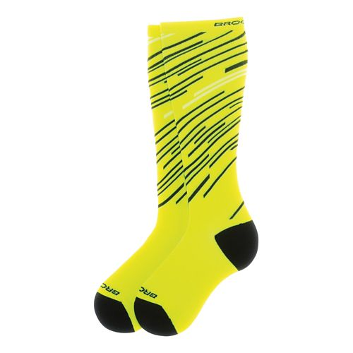 Brooks Fanatic Compression Sock Injury Recovery - Nightlife/Black L