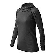 Womens New Balance M4M Seamless Hoodie & Sweatshirts Technical Tops