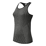 Womens New Balance M4M Seamless Tank Technical Tops