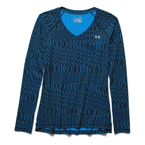 Women's Under Armour�HeatGear Armour Mesh Printed Longsleeve