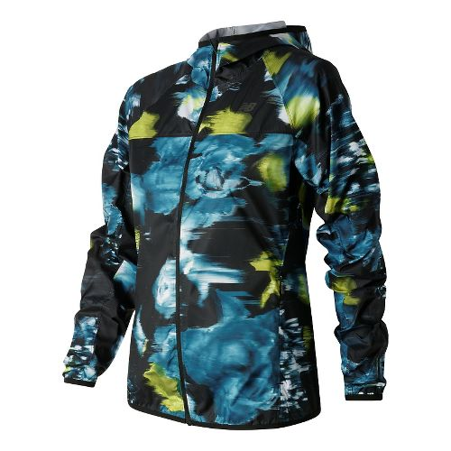 Womens New Balance Windcheater Jackets - Urban Floral Print M