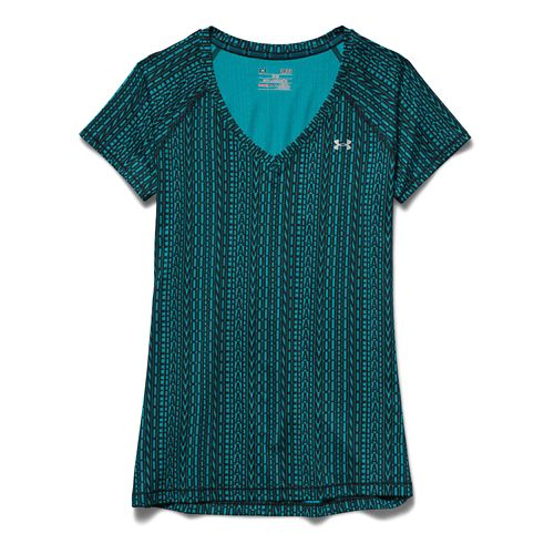 Women's Under Armour�HeatGear Armour Printed Mesh Shortsleeve