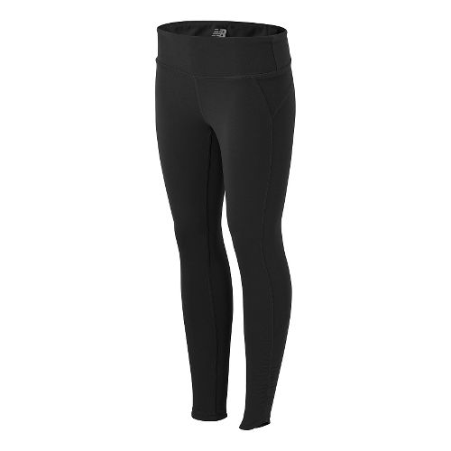 Womens New Balance Premium Performance Fitted Tights & Leggings - Black XS