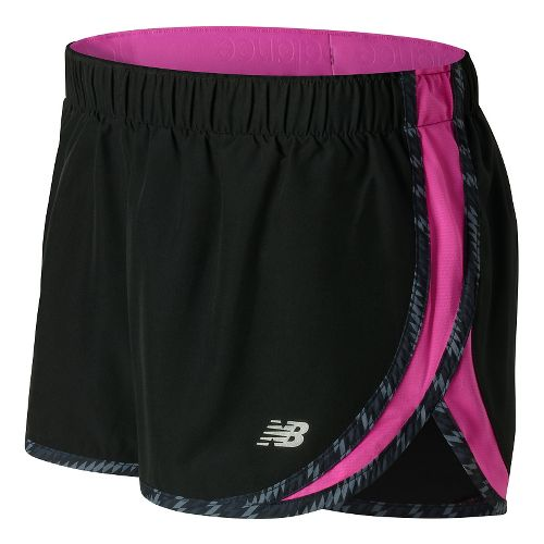 Womens New Balance Accelerate 2.5'' Lined Shorts - Fusion M