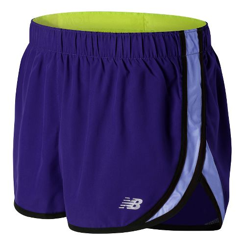 Womens New Balance Accelerate 2.5'' Lined Shorts - Spectral M